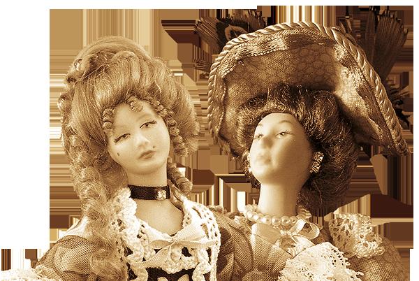 Bibbi Miniatures Bambole