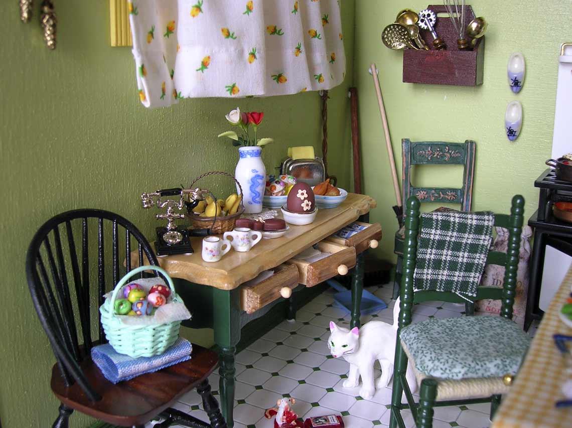 In cucina negli anni \'30 • Bibi Miniatures