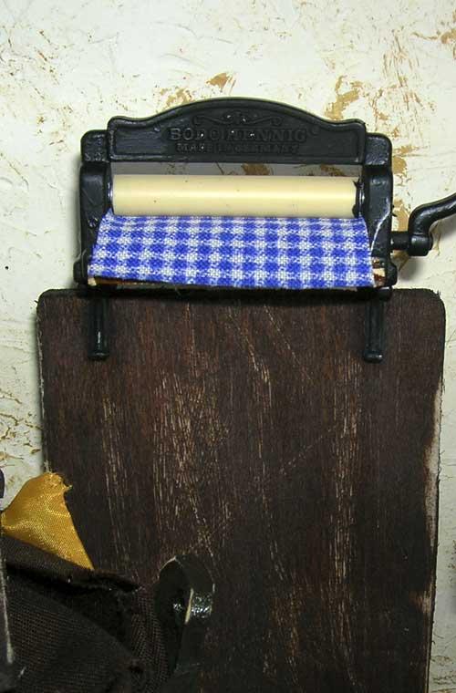 Locale lavanderia nel 1800