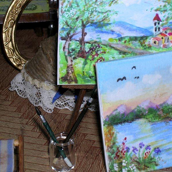 Lo studio del pittore